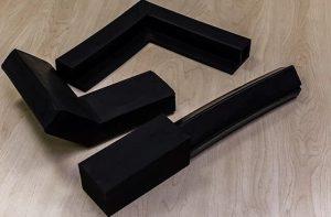 prefabricated corner pads