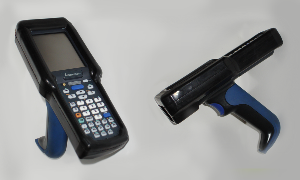 hand held scanner bumper cover