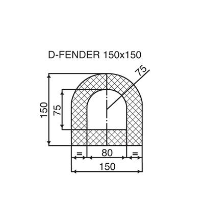 150 x 150 D section opt1