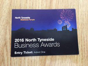 North Tyneside Business Awards ticket
