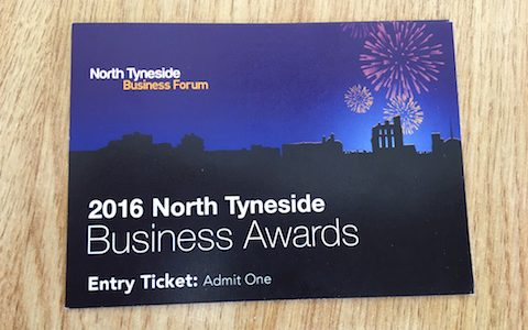 North Tyneside Business Awards ticket