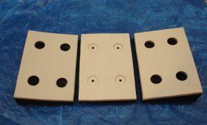 bespoke rubber pads