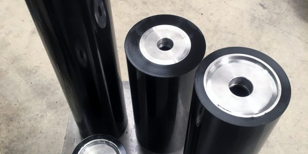Polyurethane roller covering