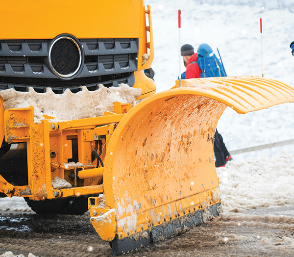 snow plough rubber blade